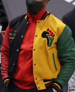 Donovan Mitchell HBCU Pride Letterman Jacket