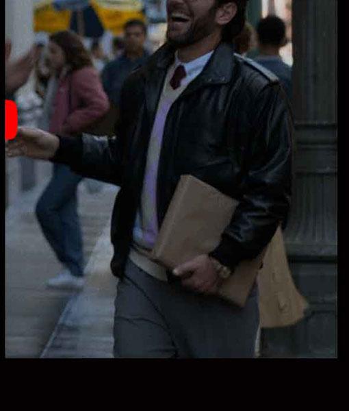 Dr. Isaac Herschkopf The Shrink Next Door Leather Jacket