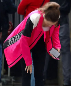 Lily Colin Emily in Paris S02 Pink Jacket