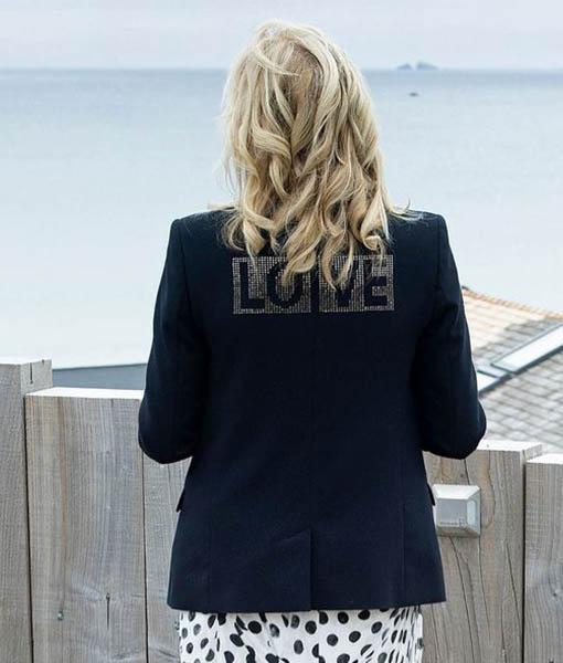 """""""Love"""" Jill Biden Black Blazer"""