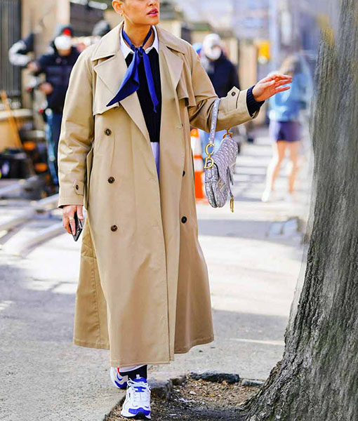 Julien Calloway Gossip Girl Long Coat