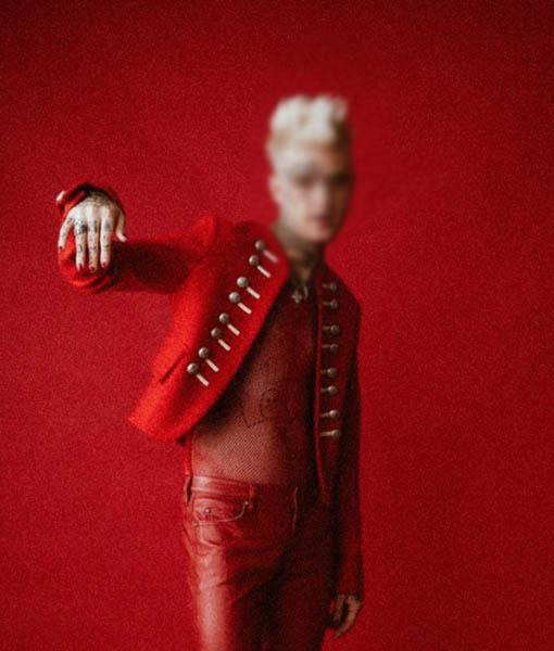 Lil Peep Red Jacket