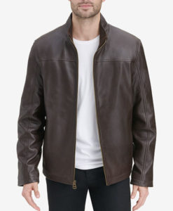 Men's Smooth Leather Jacket
