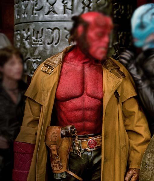 Ron Perlman Hellboy 2 The Golden Army Coat