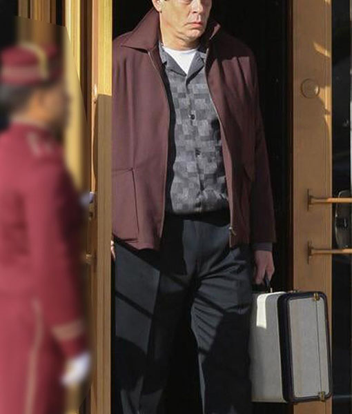Ronald Russo No Sudden Move Jacket