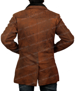 Sheriff Walt Longmire Robert Taylor Leather Coat