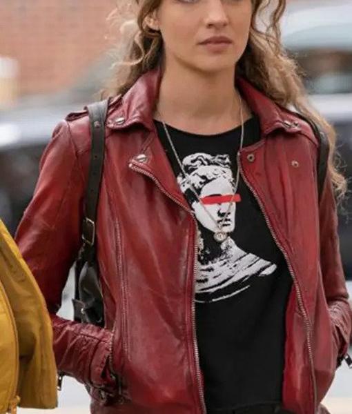 Sarah Cooper The Republic of Sarah Red Jacket