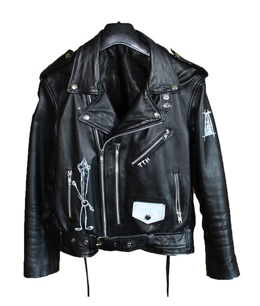 These Things Happen When It's Dark Out Leather Jacket