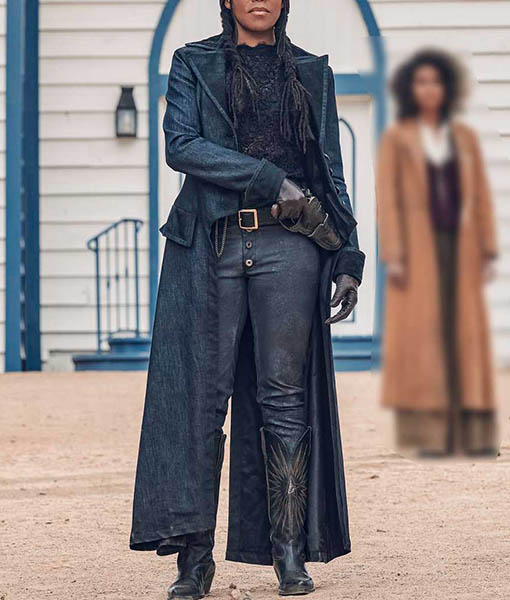 Trudy Smith The Harder They Fall Black Coat