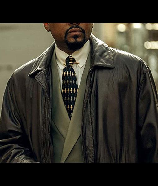 Born Ready Power Book III Leather Coat