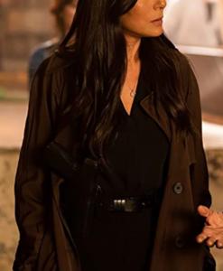 Captain Angie Garza Spiral 2021 Brown Coat