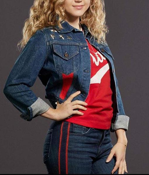 Courtney Whitmore Stargirl S02 Denim Jacket
