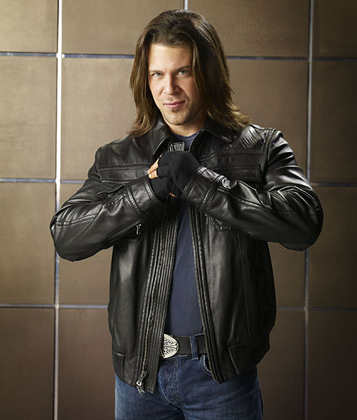 Jake Stone The Librarians Leather Jacket