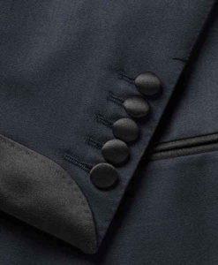 James Bond No Time To Die Blue Tuxedo