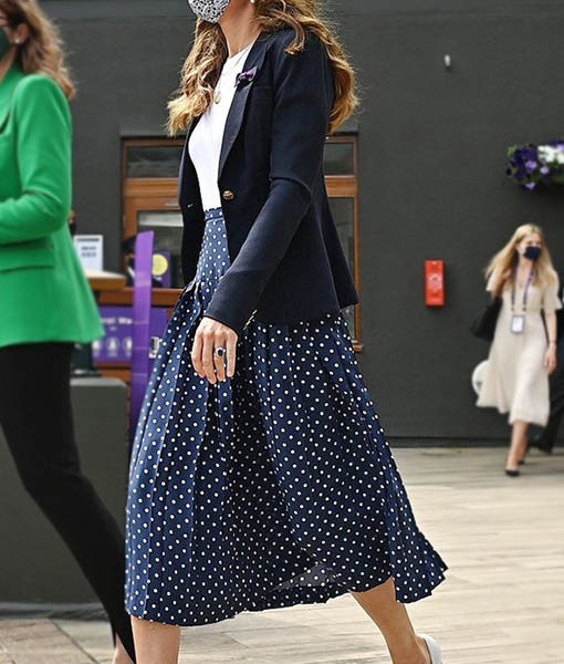 Kate Middleton Wimbledon 2021 Blazer