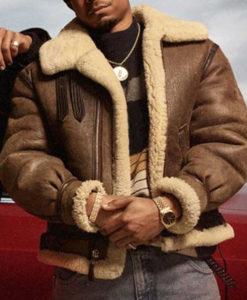 Lou-Lou Power Book III Shearling Jacket