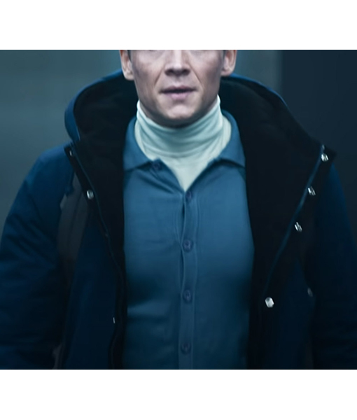 Ludwig Dieter Army of Thieves Blue Jacket