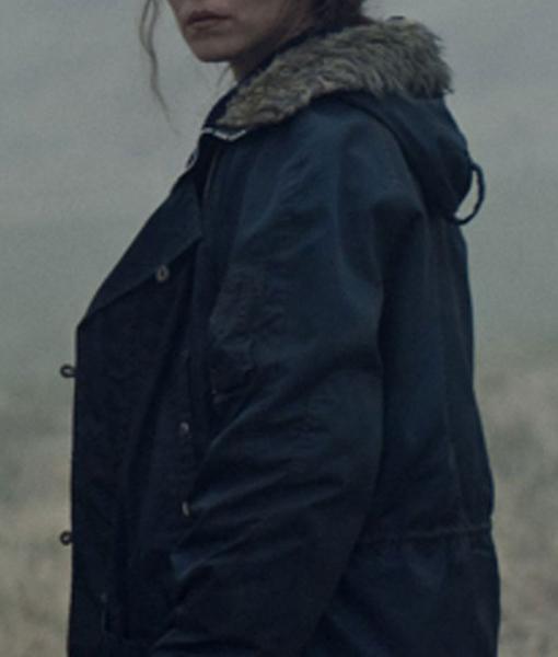 Maria Lamb Cotton Coat