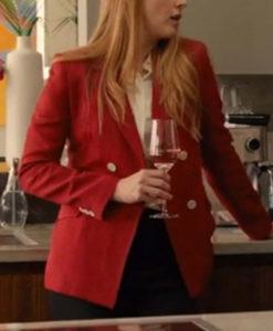 Melinda Monroe Virgin River S03 Red Blazer