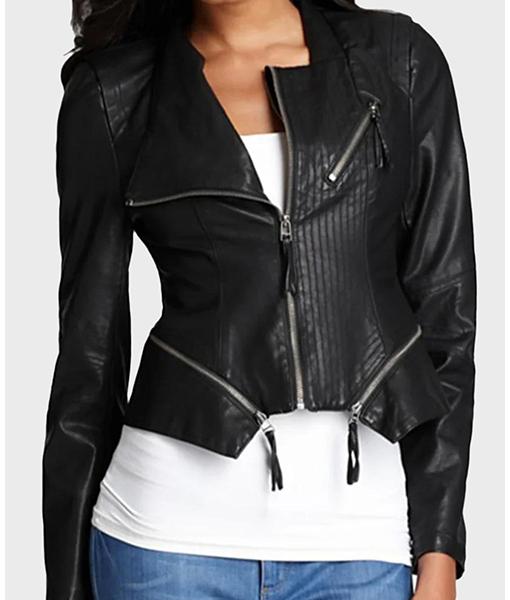 Rosa Diaz Brooklyn Nine-Nine Black Leather Jacket