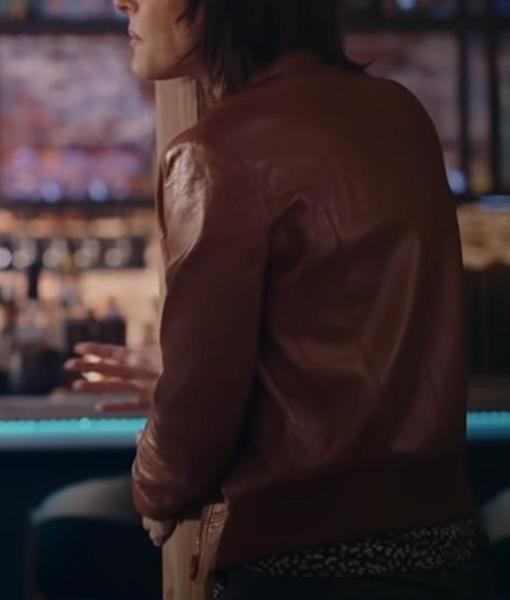Shane McCutcheon The L Word Generation Q Brown Jacket