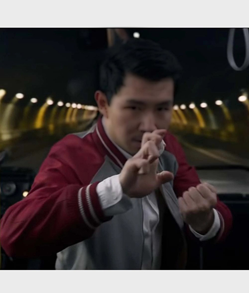 Shang-Chi's Shang-Chi and the Legend of the Ten Rings Red Bomber Jacket