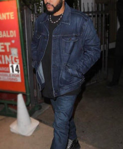The Weeknd Denim Jacket