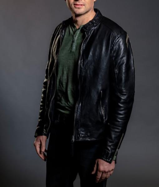 Travis Burke Mystery 101 Leather Jacket