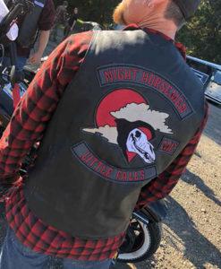 Wayland Lorelei Black Leather Vest