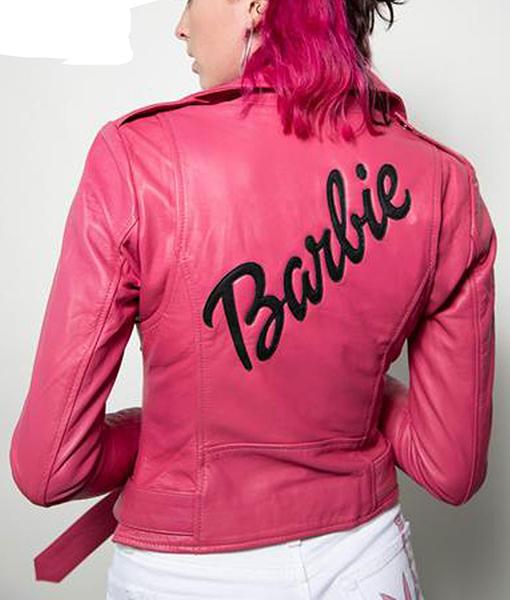 Women's Pink Barbie Doll Jacket