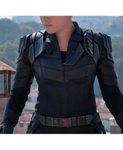 Yelena Belova Black Widow 2021 Leather Jacket