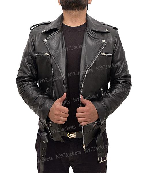 Yagami Judgement Leather Jacket