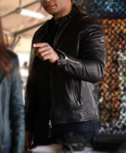 David Ramsey Superman and Lois Leather Jacket