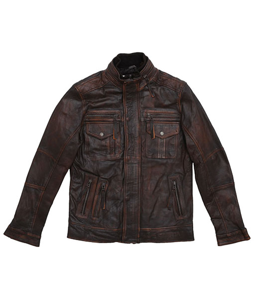 Men's Field Jacket with Double Collar