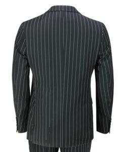 Peaky Blinders Thomas Shelby Black Pinstripe Three Piece Suit