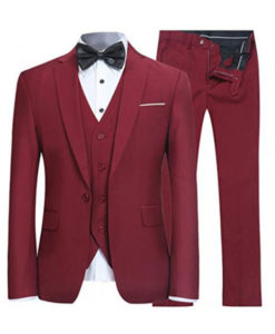Peaky Blinders Thomas Shelby Red Three Piece Suit