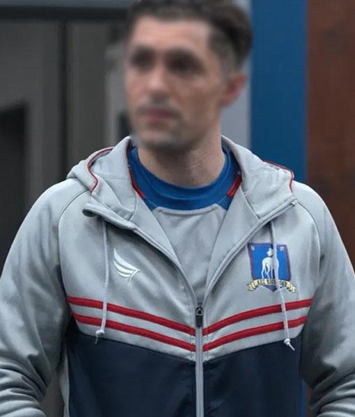 Ted lasso Jamie Tartt Hooded Track Jacket