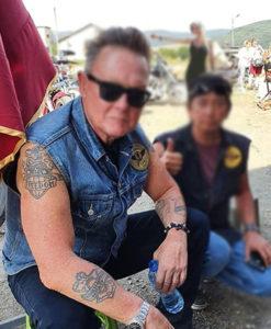 The Protege Billy Boy Denim Vest