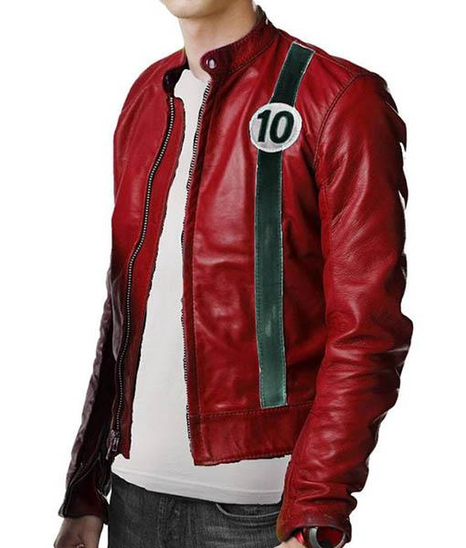 Albedo Ben 10 Alien Force Leather Jacket
