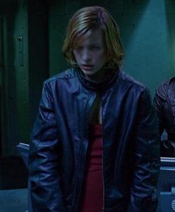 Alice Resident Evil Leather Jacket