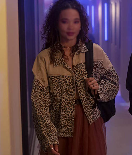Ashley Moore I Know What You Did Last Summer Jacket