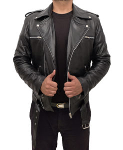 Brian The Nowhere Inn 2021 Leather Jacket