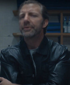 Chris Charais Max Bishop Leather Jacket