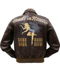 Chris Redfield Made in Heaven Air Force Flight Jacket