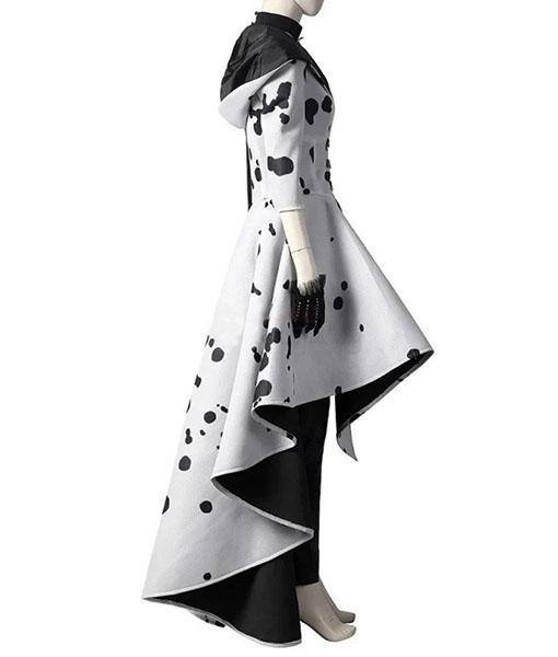 Cruella De Vil Cosplay Coat - Right