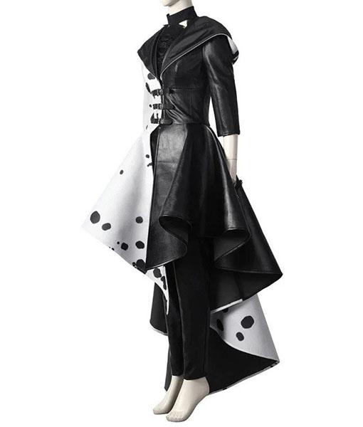 Cruella De Vil Cosplay Coat - Left