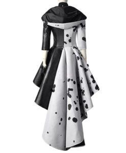 Cruella De Vil Cosplay Coat - Back