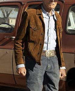 Mike Milo Cry Macho Leather Jacket