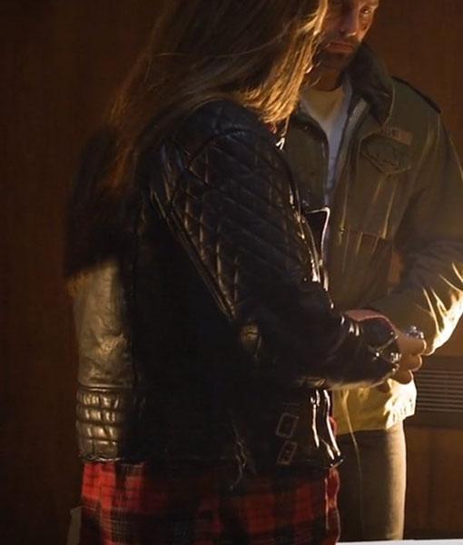 Oapi Holiday Monday Leather Jacket