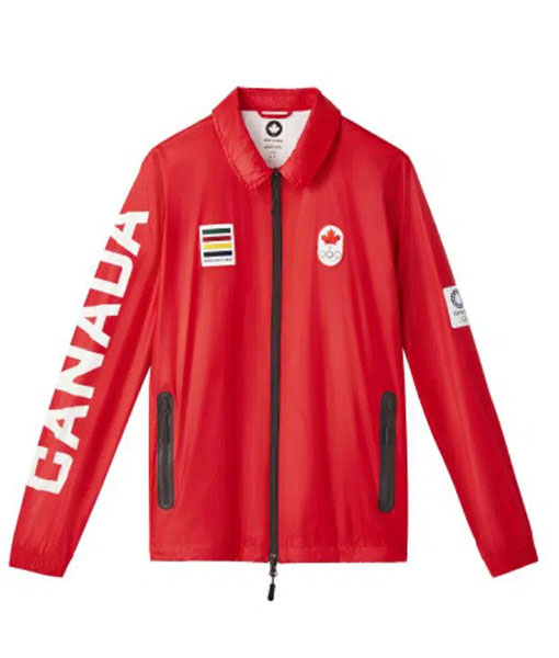 Olympic 2021 Team Canada Red Jacket